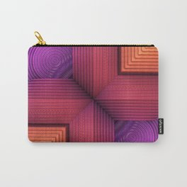 Textures and Patterns Carry-All Pouch