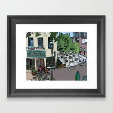 Aster Cafe - Minneapolis, Minnesota Framed Art Print