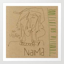Naima Art Print