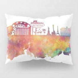 Las Vegas skyline Pillow Sham