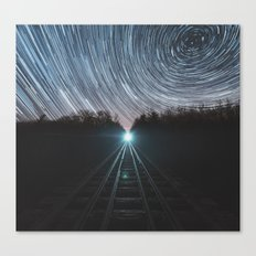 Railroad of Time Canvas Print