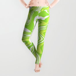 Green Liquid Agate Leggings