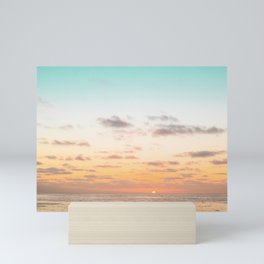 California Sunset Season Mini Art Print