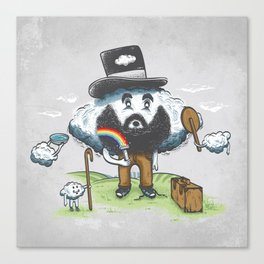Magic Shaver Canvas Print
