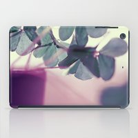 clover iPad Cases featuring clover by Ingrid Beddoes