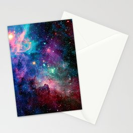 SPACE--STARS Stationery Cards