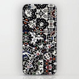 Pattern composition V6 iPhone Skin