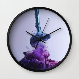 Color Splash II Wall Clock