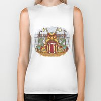 ahs Biker Tanks featuring AHS Freak Show by Samtronika