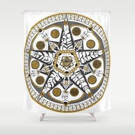 Original Mandala One Shower Curtain