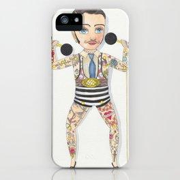 Circus strong man iPhone Case