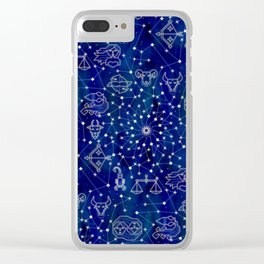 zodiacal sky Clear iPhone Case