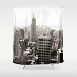 Static Empire Shower Curtain