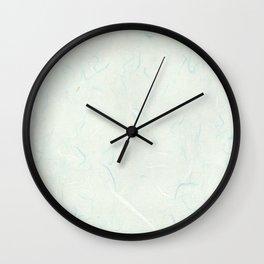 Hanji sky blue ver. Wall Clock