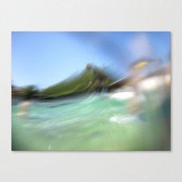 Walk on the ocean Canvas Print