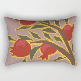 Pomegranate Illumination Rectangular Pillow