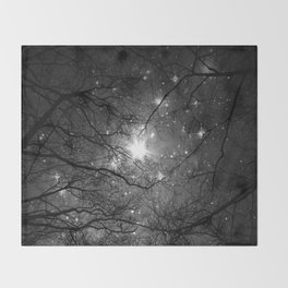 Starry Night Sky 3 Throw Blanket