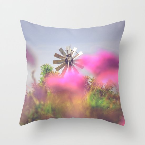 Summer Winds Throw Pillow