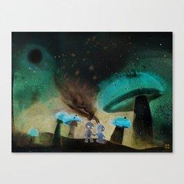 Wanderers 001 Canvas Print