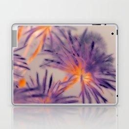 Purple Fairy Flowers Laptop & iPad Skin