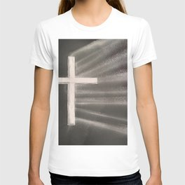 Light Shines Through Darkness T-shirt