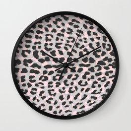 LEO CHEETAH PRINT Wall Clock