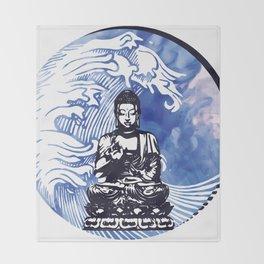 Deepwater Buddha Throw Blanket