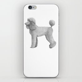 Poodle - standard - abricot iPhone Skin