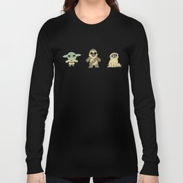 The origin of pugs Long Sleeve T-shirt