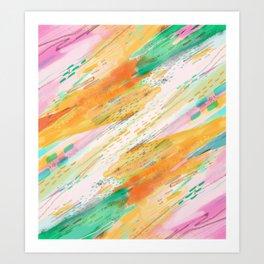 Fibers Art Print