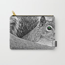 Green Eye Squirrel Carry-All Pouch