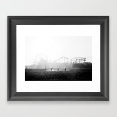 Column Framed Art Print