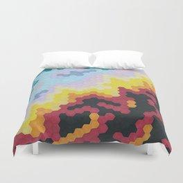 Nebula Hex Duvet Cover