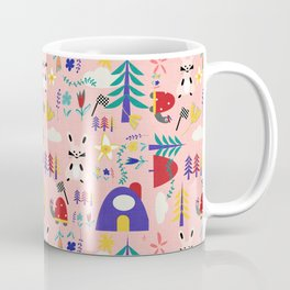 Tortoise and the Hare is one of Aesop Fables pink Coffee Mug