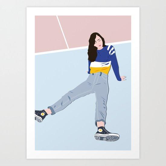 COURT Art Print