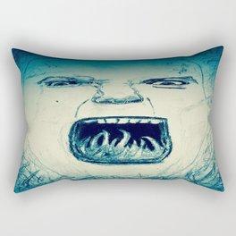 Rally Cry. Rectangular Pillow