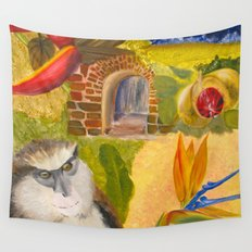 Scenes of Grenada Wall Tapestry