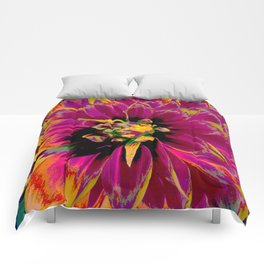 """Extreme Dahlia """"Ketchup & Mustard"""" Comforters"""