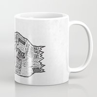 vancouver Mugs featuring Vancouver by Aaron Schwartz