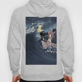 Calm the rough seas Hoody
