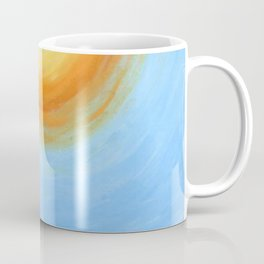 Haitian Sunrise coastal landscape painting by Joseph Stella Coffee Mug