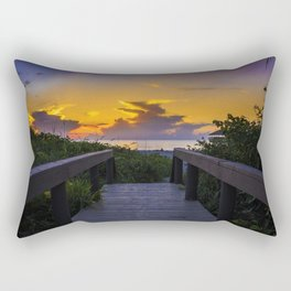 Florida 02 - World Big Beach Rectangular Pillow