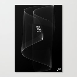 The Flow Series #07 Canvas Print