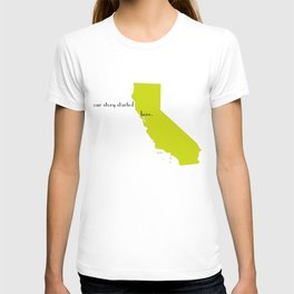 san francisco love T-shirt