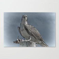 Proud Of My Catch Canvas Print