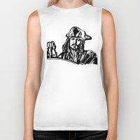 jack sparrow Biker Tanks featuring Jack Sparrow....Captain Jack Sparrow.. by Kramcox
