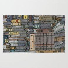 Closed Books Rug
