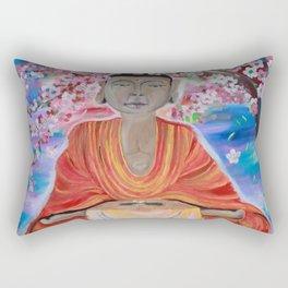 Awaiting Peace Rectangular Pillow