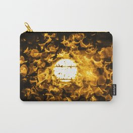 SUN BURST. Carry-All Pouch