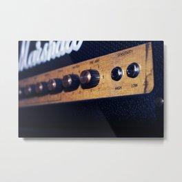 Marshal Vintage Speaker Metal Print